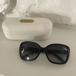 Chloe Sunglasses never worn, includes case